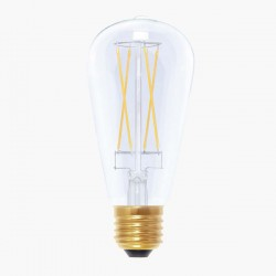 Segula Vintage Line 6W 2200K Dimmable E27 Clear Rustica LED Bulb