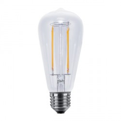 Segula Vintage Line 6W 2600K Dimmable E27 Clear Rustica LED Bulb