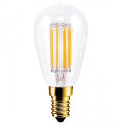 Segula Vintage Line 4.7W 2200K Dimmable E14 Clear Radio Style LED Bulb