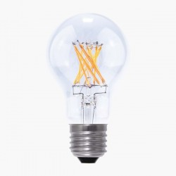 Segula Vintage Line 8W 2600K Dimmable E27 Clear A19 LED Bulb