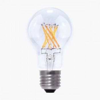 Segula Vintage Line 8W 2600K Dimmable E27 Clear A19 LED Bulb
