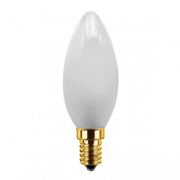 Segula Vintage Line 3.5W 2200K Dimmable E14 Frosted Candle LED Bulb