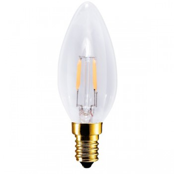 Segula Vintage Line 3.5W 2200K Dimmable E14 Clear Candle LED Lamp