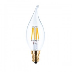 Segula Vintage Line 3.5W 2200K Dimmable E14 Clear Candle Flame LED Bulb