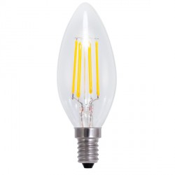 Segula Vintage Line 4W 2600K Dimmable E14 Clear Candle LED Bulb