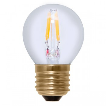 Segula Vintage Line 2.7W 2200K Dimmable E27 Clear Golfball LED Bulb