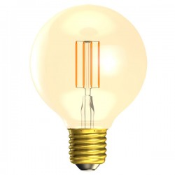 Bell Lighting Vintage 4W Warm White Non-Dimmable E27 Amber LED Globe Lamp