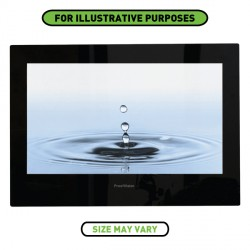 ProofVision 19 Inch Waterproof Bathroom TV with Black Finish