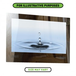 ProofVision 24 Inch Waterproof Bathroom TV with Mirror Finish