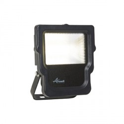 Ansell Calinor 10W 4000K Black LED Floodlight