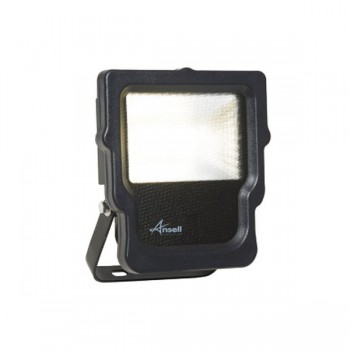 Ansell Calinor 10W 3000K Black LED Floodlight