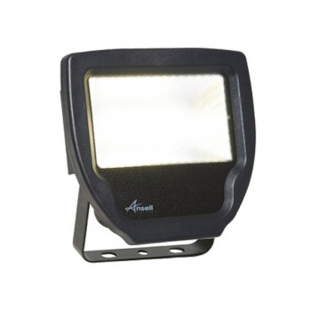 Ansell Calinor 20W 4000K Black LED Floodlight