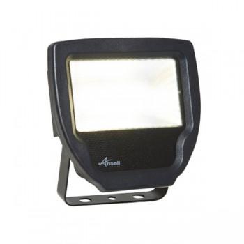 Ansell Calinor 30W 3000K Black LED Floodlight