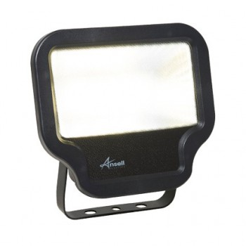 Ansell Calinor 50W 4000K Black LED Floodlight