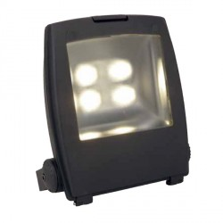 Ansell Mira 200W Cool White LED Floodlight with Photocell