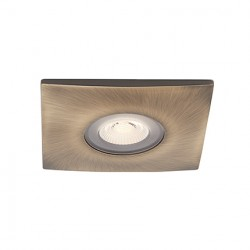 Ansell Square Antique Brass Trim Bezel for Orbio 360 and 360 Gimbal Downlights
