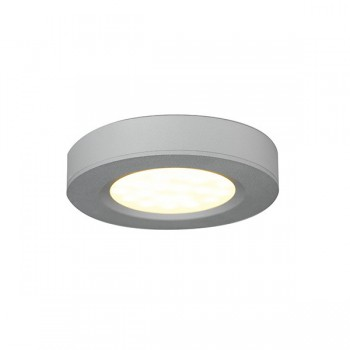 Ansell 3W Warm White LED Cabinet Light with Silver Finish