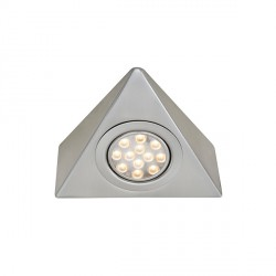Ansell Vertex 3W Warm White LED Cabinet Light