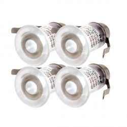 Knightsbridge 0.1W White LED Decking Light Kit
