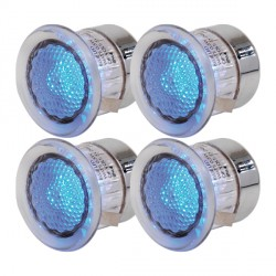 Knightsbridge 0.5W Blue LED Decking Light Kit
