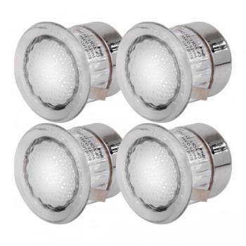 Knightsbridge 0.5W White LED Decking Light Kit