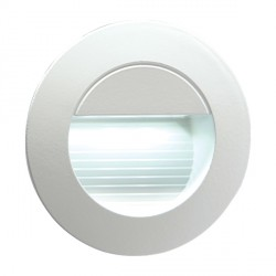 Knightsbridge 1.2W LED Miniature Round White Guide Light