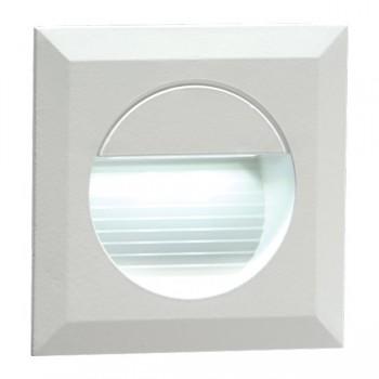 Knightsbridge 1.2W LED Miniature Square White Guide Light