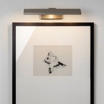 Astro Vermeer 300 2700K Matt Nickel LED Picture Light