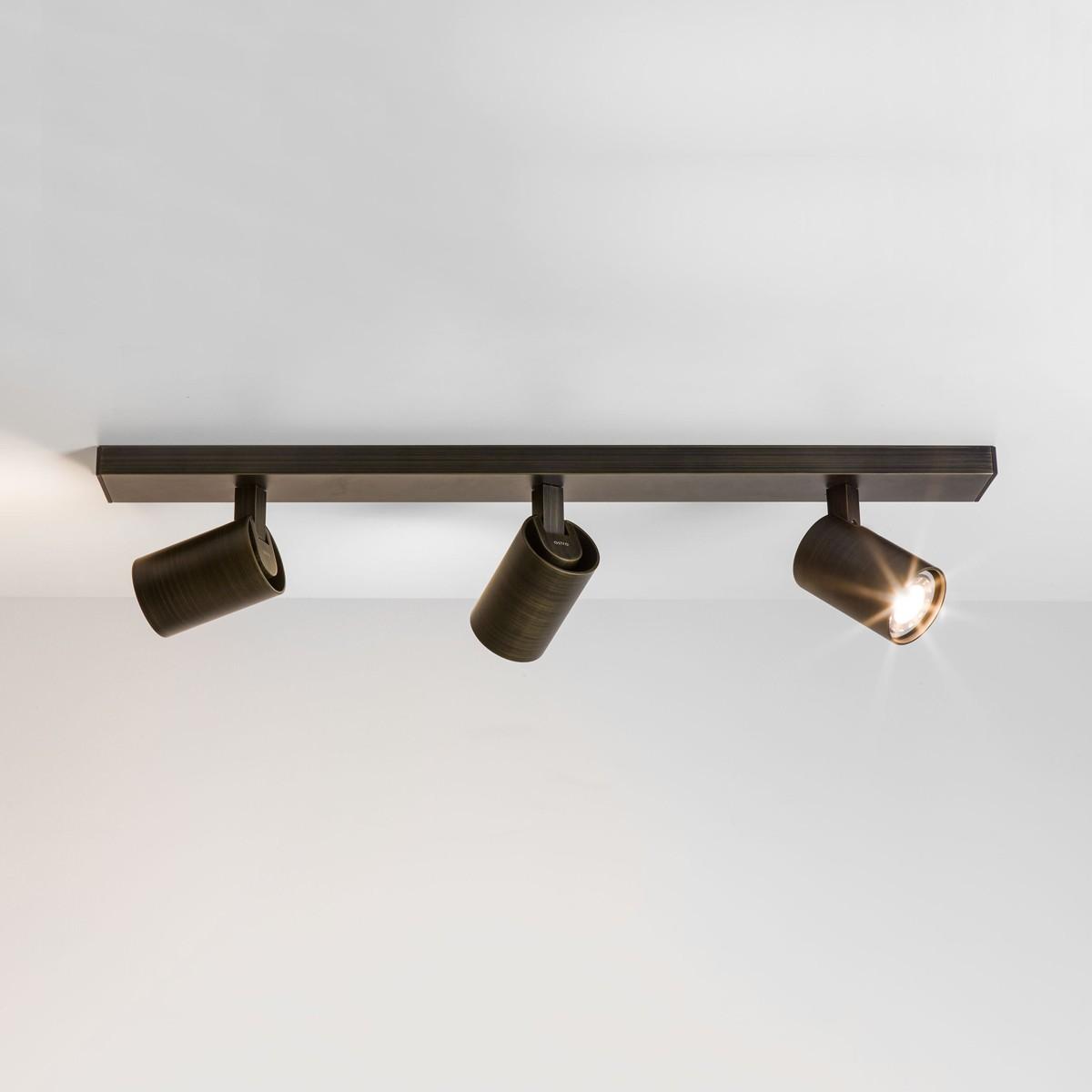 Astro Ascoli Triple Bar Bronze Spotlight At Uk Electrical