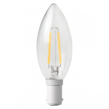 Megaman Filament Candle 3W 2700K Non-Dimmable B15 LED Lamp
