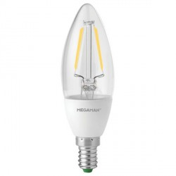 Megaman Filament Candle 3.2W 2700K Dimmable E14 LED Lamp