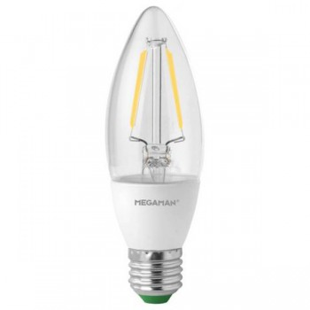 Megaman Filament Candle 3.2W 2700K Dimmable E27 LED Lamp