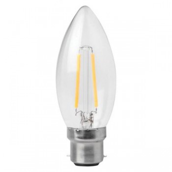 Megaman Filament Candle 3W 2700K Non-Dimmable B22 LED Lamp