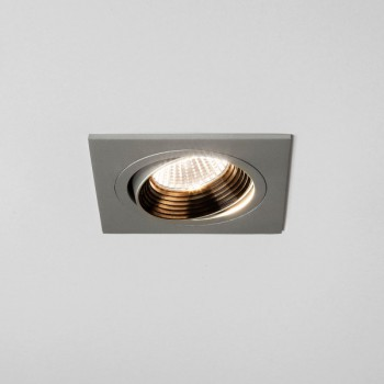 Astro Aprilia 7W 2700K Square Anodised Aluminium Adjustable LED Downlight