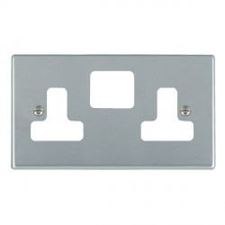 Hamilton Hartland Grid Satin Chrome SS2 Grid Fix Aperture Plate