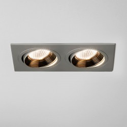 Astro Aprilia 2x7W 2700K Twin Anodised Aluminium Adjustable LED Downlight