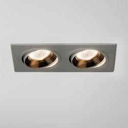 Astro Aprilia 2x7W Twin Anodised Aluminium Adjustable LED Downlight - 2700K