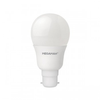 Megaman 9.5W 2800K Non-Dimmable B22 Opal LED Classic Bulb