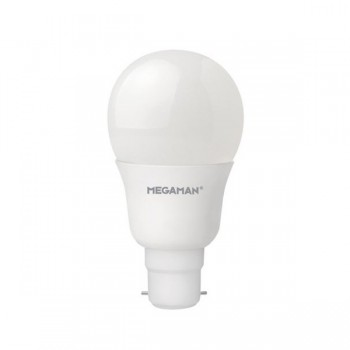 Megaman 9.5W 6500K Non-Dimmable B22 Opal LED Classic Bulb