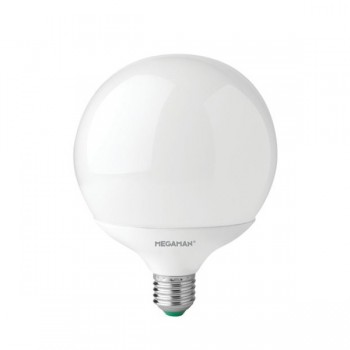 Megaman 14W 2800K Non-Dimmable E27 Opal LED Globe Lamp