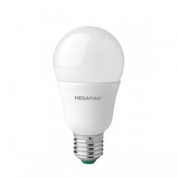 Megaman Shatterproof 10.5W 2800K Dimmable E27 Opal LED Classic Bulb