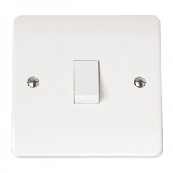 Click Mode 20A White PVC DP Switch