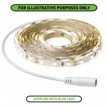Aurora Lighting 12V 5m Blue LED Strip Kit