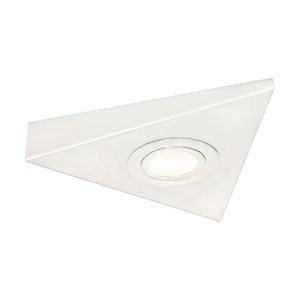 Knightsbridge Mini Triangular White LED Under Cabinet Light