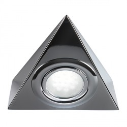 Knightsbridge Mini Triangular Chrome LED Under Cabinet Light