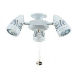 Fantasia Sorrento White Halogen Light Kit