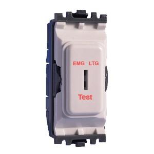 MK Electric Grid Plus White 20A Double Pole Emergency Lighting Secret on