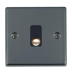 Hamilton Hartland Black Nickel 20A Cable Outlet with Black Insert