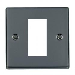 Hamilton Hartland EuroFix Plates Black Nickel Single Plate c/w 1 EuroFix Apertures + Grid