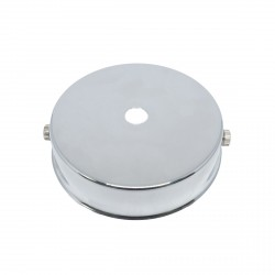 S. Lilley & Son 80mm Single Hole Chrome Ceiling Plate